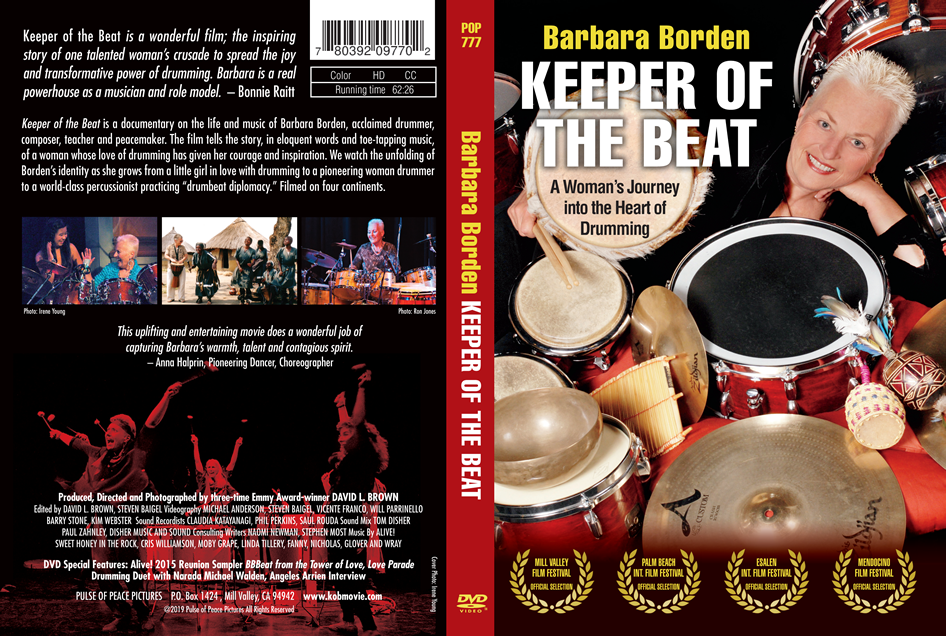 Keeper of the Beat DVD and Blu-Ray Disc