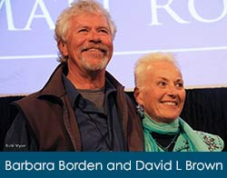 David Brown  & Barbara Borden